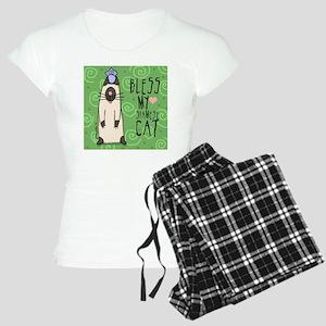 MAGScaSIAMESEt Women's Light Pajamas