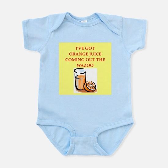 orange juice Infant Bodysuit