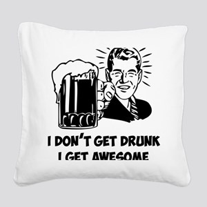 beerGuyA Square Canvas Pillow