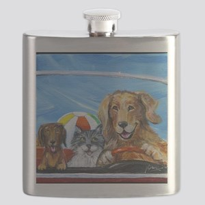 Road Trip to Capitola Flask