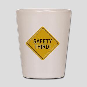 Safety_Third Shot Glass