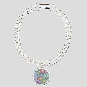 love-need-rnd-BW-LTT Charm Bracelet, One Charm