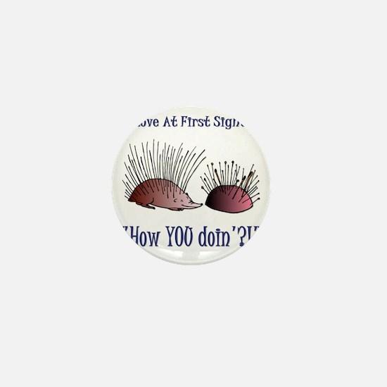 funny001 Mini Button