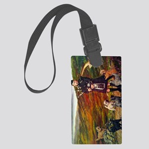 helfcoloursideways Large Luggage Tag