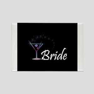 Bride - Purple Haze Martini Rectangle Magnet