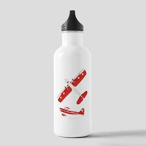 T-Shirt Back on Black Stainless Water Bottle 1.0L