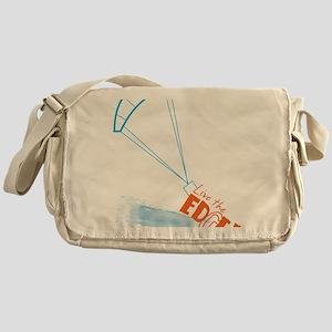 glenn fuller Messenger Bag