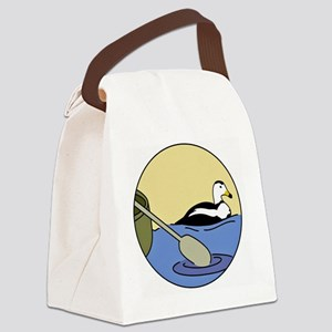 ORI just duck and paddle Canvas Lunch Bag