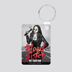 Blood Sister revised Aluminum Photo Keychain