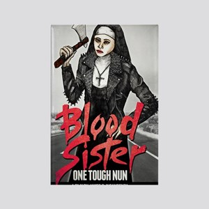 Blood Sister revised Rectangle Magnet