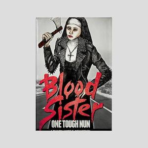 Blood Sister revised Rectangle Magnet