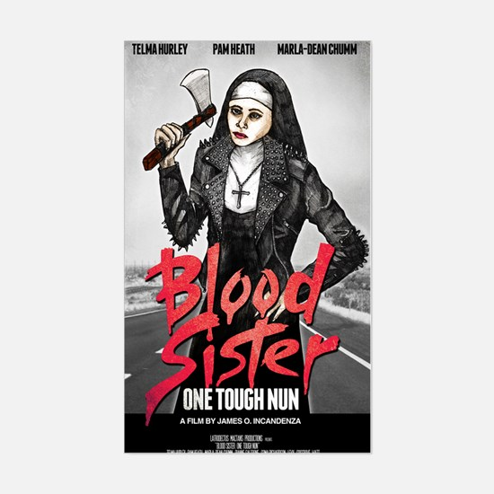 Blood Sister revised Sticker (Rectangle)