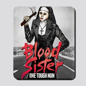 Blood Sister revised Mousepad
