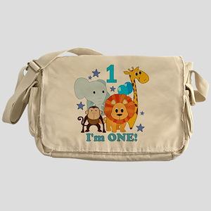baby1JungleAnimals Messenger Bag