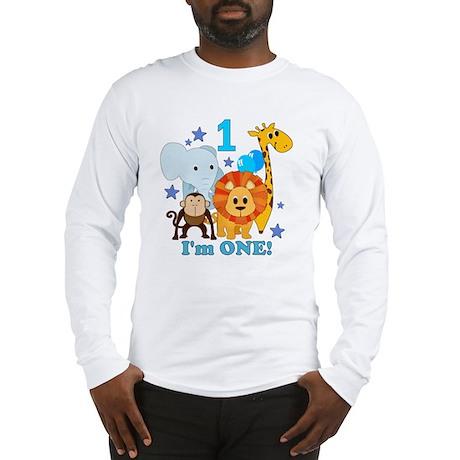 baby1JungleAnimals Long Sleeve T-Shirt