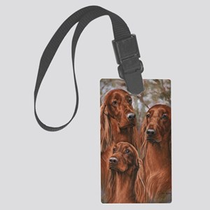 The girls of Tuesday Large Luggage Tag