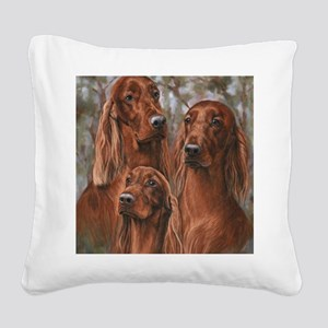 The girls of Tuesday Square Canvas Pillow