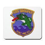 USS GROUPER Mousepad