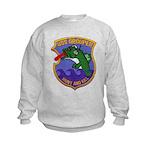 USS GROUPER Kids Sweatshirt