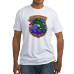 USS GROUPER Fitted T-Shirt