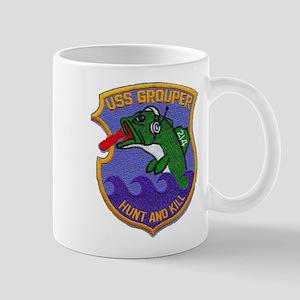 USS GROUPER Mug