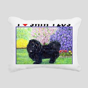 quincy_85hx10 Rectangular Canvas Pillow