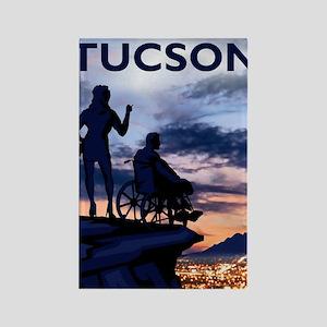 Visit Tucson poster Rectangle Magnet