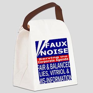 Faux Noise Lies - Vitriol T shirt Canvas Lunch Bag