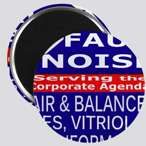 Faux Noise Lies - Vitriol T shirt Magnet