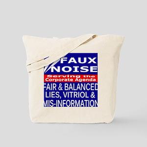 Faux Noise Lies - Vitriol T shirt Tote Bag