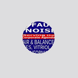 Faux Noise Lies - Vitriol T shirt Mini Button