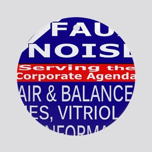 Faux Noise Lies - Vitriol T shirt Round Ornament