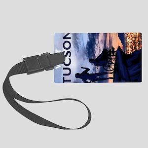 Visit Tucson postcards Large Luggage Tag