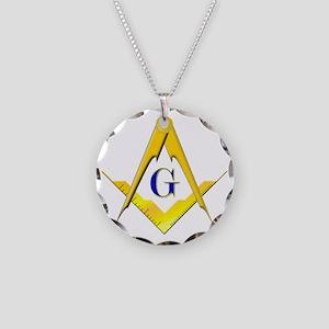 scbluecrop Necklace Circle Charm
