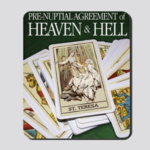 Pre-Nuptial Agreement Mousepad