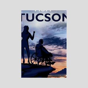 Visit Tucson framed print Rectangle Magnet