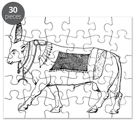 Egyptian Apis Bull Puzzle