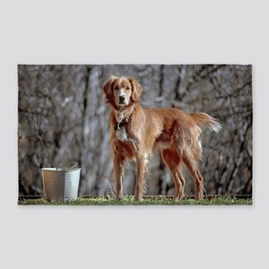 Austin the dog Poster 3'x5' Area Rug