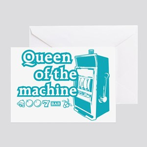 queenSlotE Greeting Card