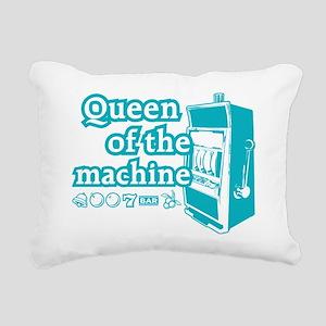 queenSlotE Rectangular Canvas Pillow