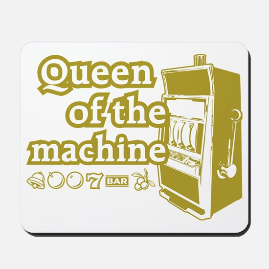 queenSlotD Mousepad