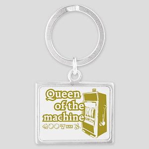 queenSlotD Landscape Keychain