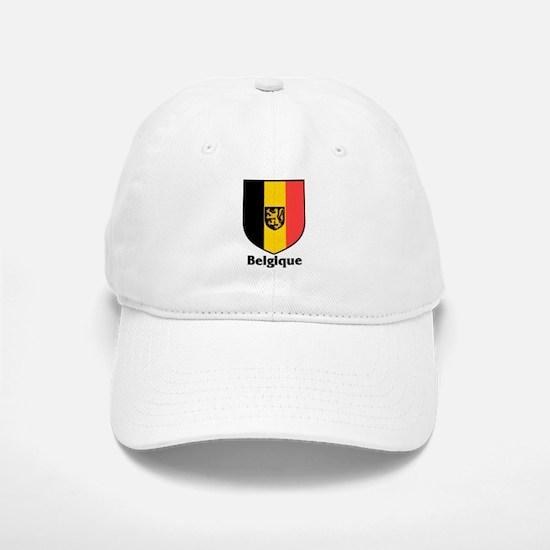 Belgique / Belgium Shield Baseball Baseball Cap