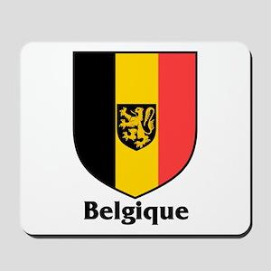 Belgique / Belgium Shield Mousepad