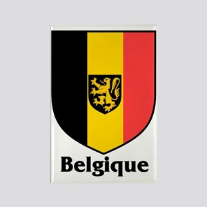 Belgique / Belgium Shield Rectangle Magnet