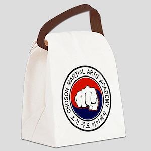 cmaa logo color logo 2011 ping Canvas Lunch Bag