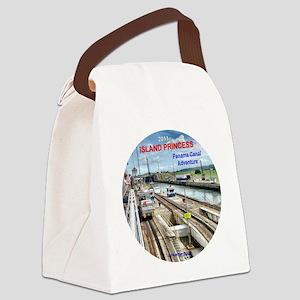 Panama Canal Adventure- Island Pr Canvas Lunch Bag
