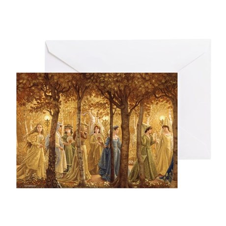 The Golden Wood Greeting Cards (Pk Of 10)