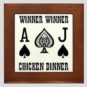 Winner1a Framed Tile