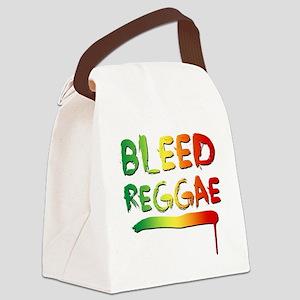 bleedreagge Canvas Lunch Bag